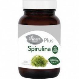 El Granero Integral Spirulina Plus 390 mg 200 caps