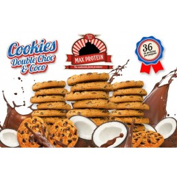 MAX PROTEIN - COOKIES - DOUBLE CHOC & COCO