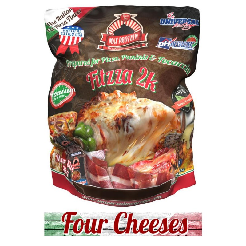 MAX PROTEIN - FITZZA® - FOUR CHEESES