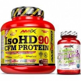 Pack Amix Pro Iso HD CFM Protein 90 1800 gr + Carn