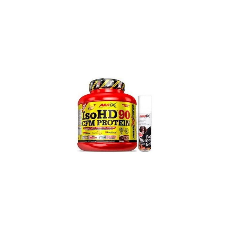 Pack Amix Pro Iso HD CFM Protein 90 1800 gr + Fat