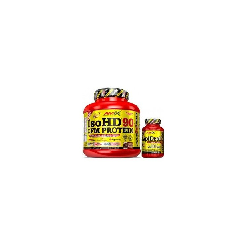 Pack Amix Pro Iso HD CFM Protein 90 1800 gr + Pro