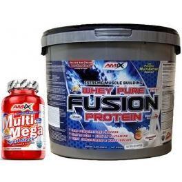 Pack Amix Whey Pure Fusion 4 kg + Amix Multi Mega