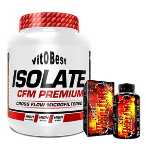 PACK ISOLATE CFM VITOBEST + HELLCORE Xtreme Thermo