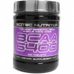 Scitec Nutrition BCAA 6400 Aminoácidos ramificados