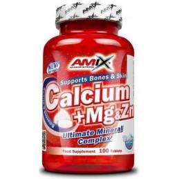 Amix Calcio + Magnesio + Zinc 100 tabl