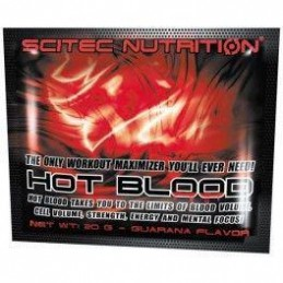 Scitec Nutrition Hot Blood 3.0 1 sobre x 20 gr