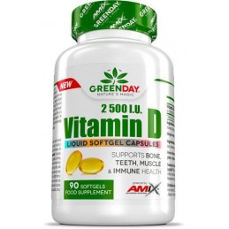 Amix GreenDay Vitamina D 2500 I.U 90 caps
