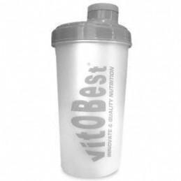 VitOBest Shaker Mezclador 700 ml Gris