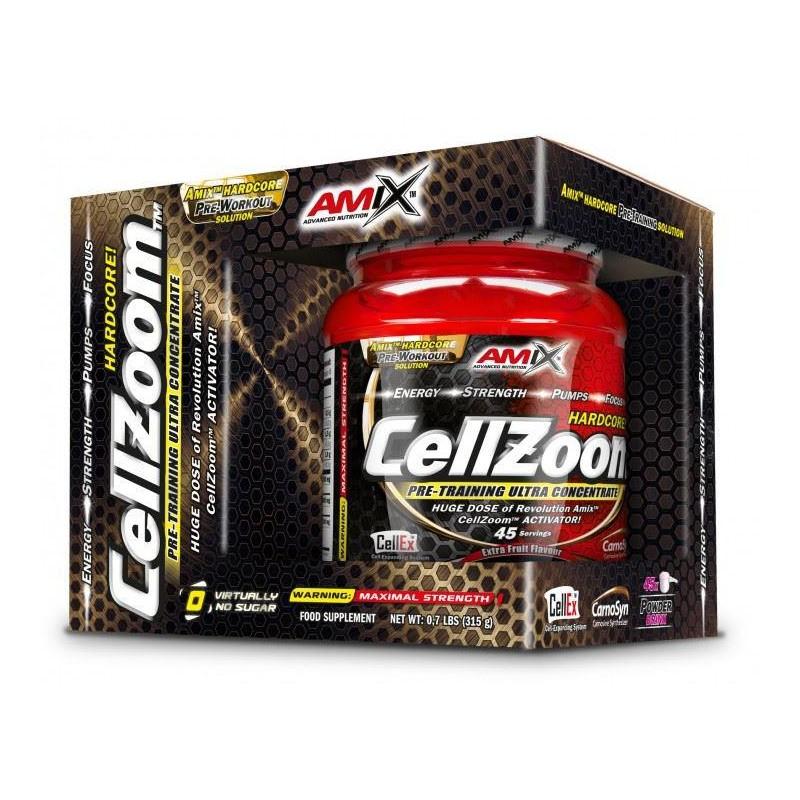CellZoom - Pre Entreno Concentrado 315gr Amix