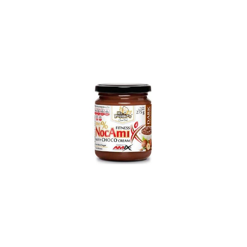 Amix NocAmix Dark - Crema de Chocolate Negro 275 g