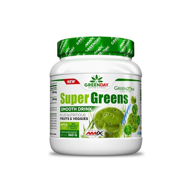 Amix GreenDay Super Greens Drink 360 gr