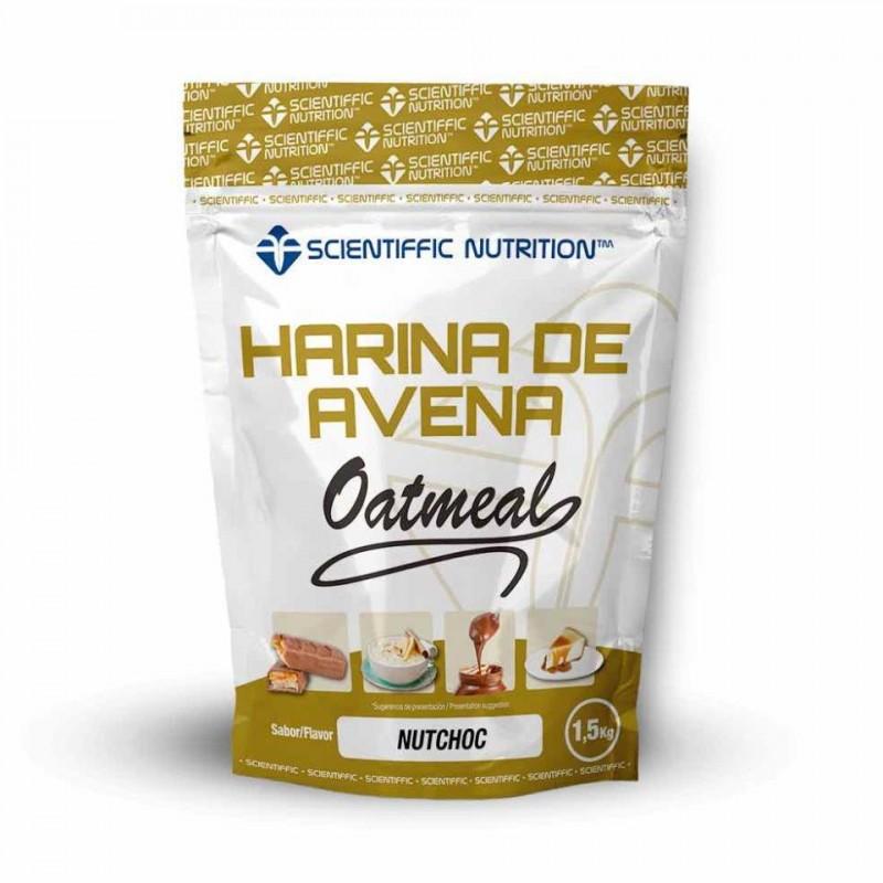 Harina de Avena 1.5kg - Scientiffic Nutrition