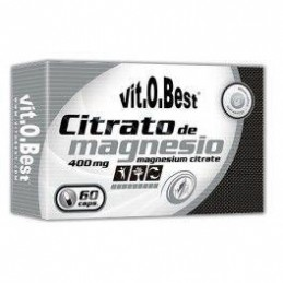 VitOBest Citrato de Magnesio 60 caps
