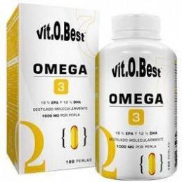 VitOBest Omega 3 1000 mg 100 perlas