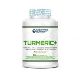 TURMERIC+ SCIENTIFFIC NUTRITION 60 CÁPSULAS