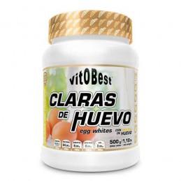 CLARAS DE HUEVO - 500G [VITOBEST]