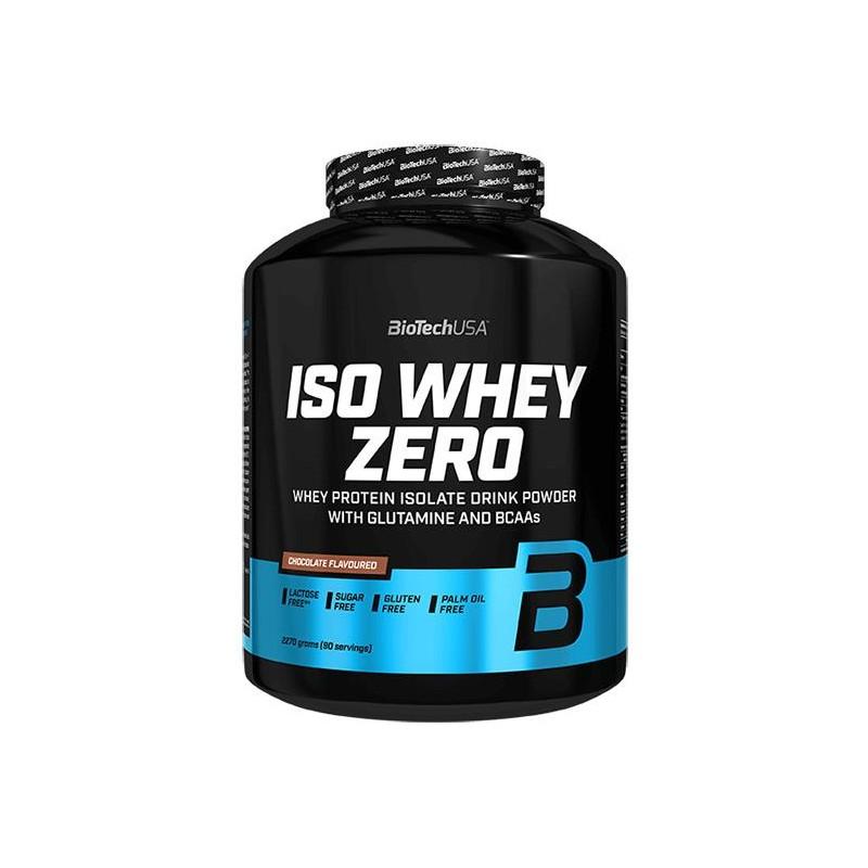 BioTechUSA Iso Whey Zero 2270 gr Proteína Sin Glut