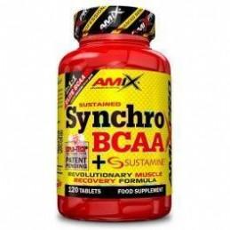 Amix Pro Synchro BCAA + Sustamine 120 tabs