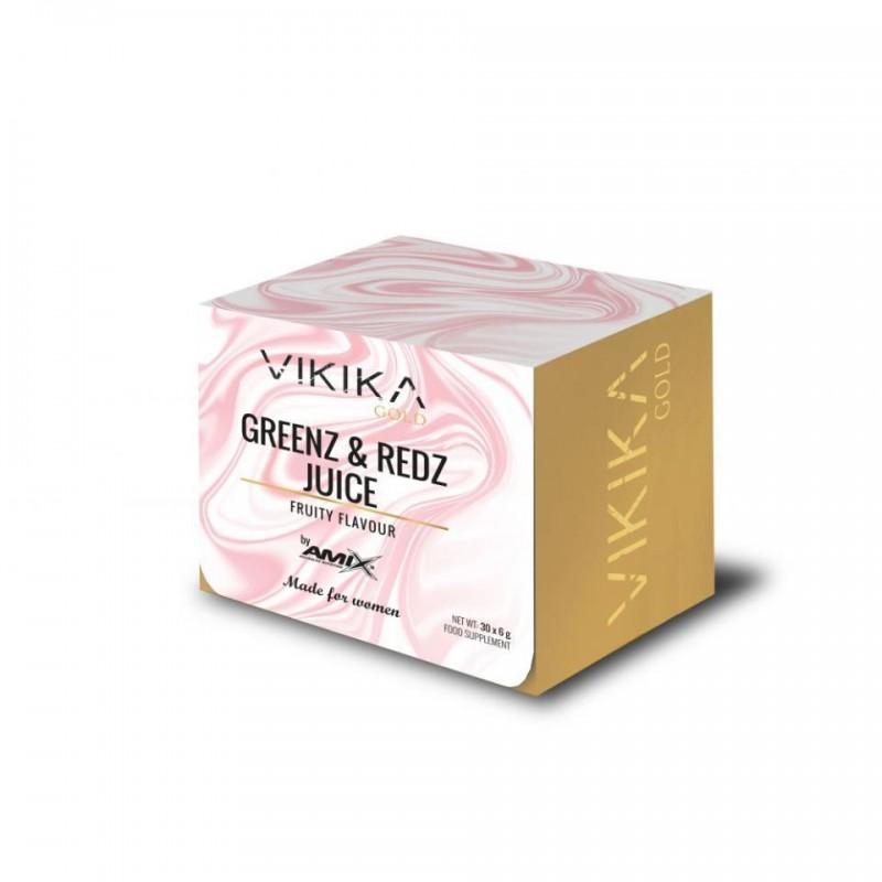 Vikika Gold Greenz & Reds 180 gr (30 x 6 gr)