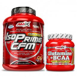 Pack Amix Iso Prime CFM 2kg...