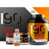 I90 Isolac CFM es una proteína de suero que posee un alto valor biológico. La misma es beneficiosa para todos aquellos deportist